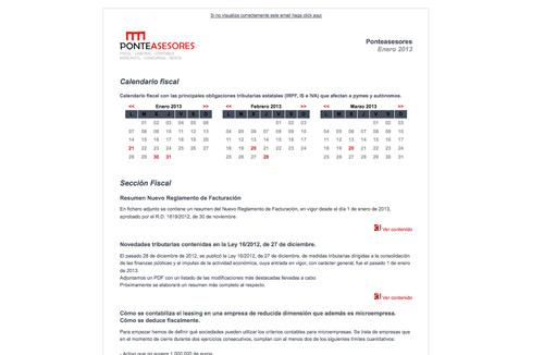Boletín Ponteasesores Abril 2013